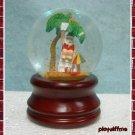 Santa On The Beach - Mini Water Globe