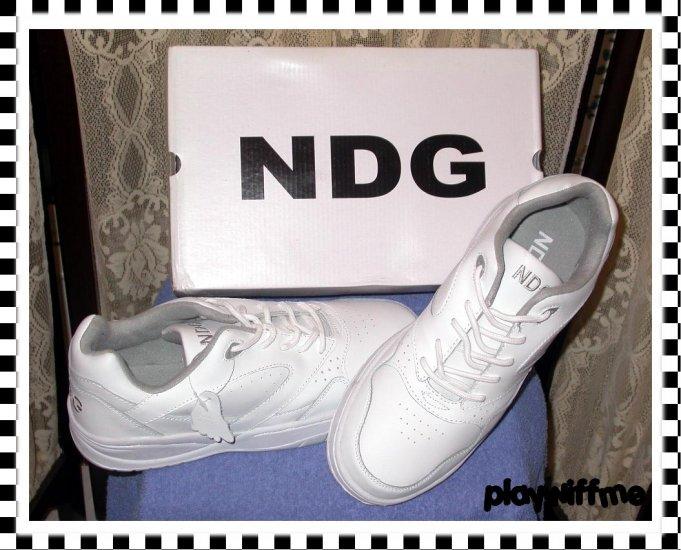 NDG Men's Athletic Shoes - Size 10 - White