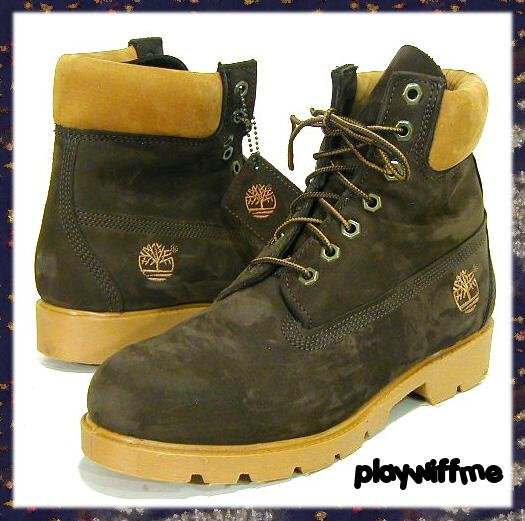 Timberland Men's Basic Work Boots - Size 8 Medium