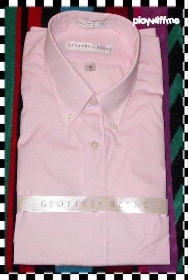 Geoffrey Beene Men's Dress Shirt - 16 34/35 - NEW