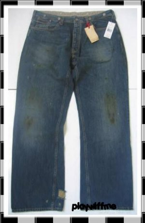 Ralph Lauren Polo Buckle Back Jeans $185 - RARE - 36/32
