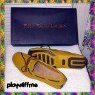Polo Ralph Lauren Yellow Henley Camp Moc Shoes 10D