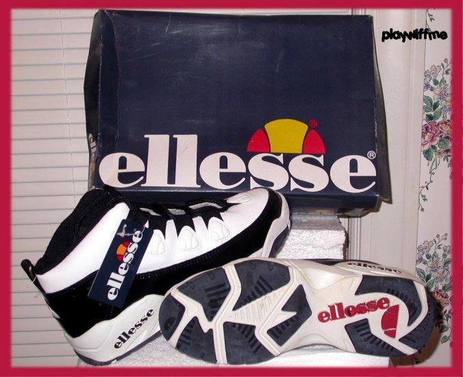 Ellesse Men's Athletic Shoes - Size 10 - White/Black