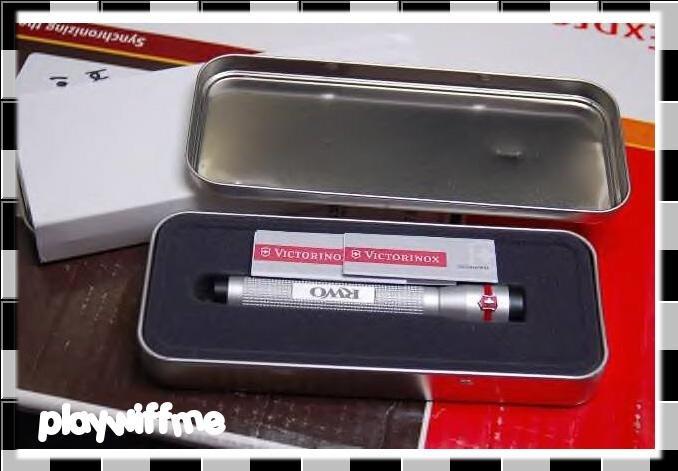 Victorinox LED Flashlight With Gift Case