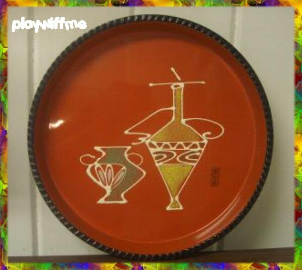 Art Deco Serving Tray - Made In Japan