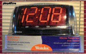 Westclox Triad Alarm Clock - New