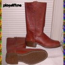 Vintage Men's Leather Boots - Size 10D - NIB