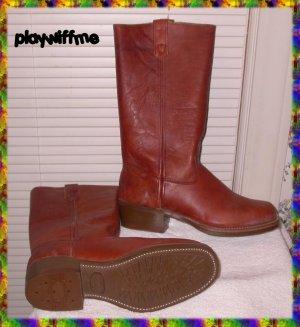 Vintage Men's Leather Boots - Size 10D - NIB