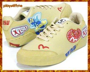 Evisu Badges Tan Mens Shoes - Size 10