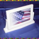 FotoFrame & Mirror - USA Flag