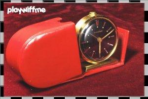 Bucherer Alarm Clock Vintage