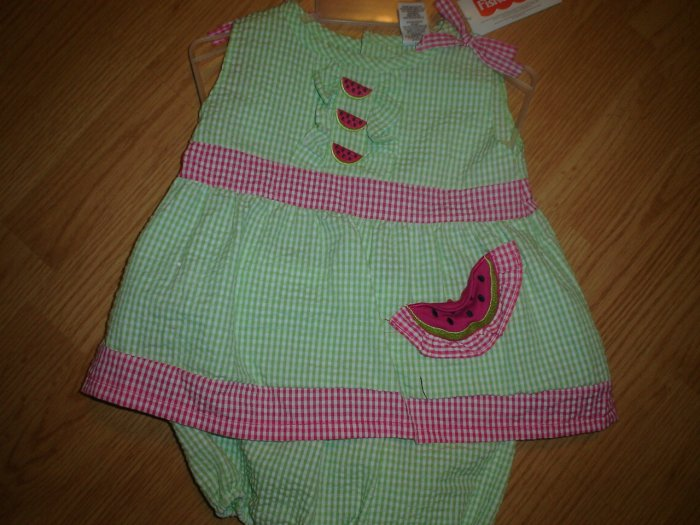 Girls 2 piece romper set