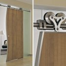 Interior heavy duty Sliding Wood Door System With Free Shipping
