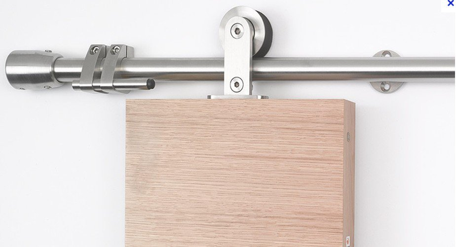 Assorted Top Hung Stainless Steel Wood Sliding Door