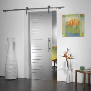 Two Sets Of Barn Style Glass Sliding Door Hardware With Free Shipping