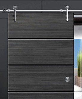 Sliding Door System For Wood Door With Free Shipping