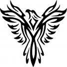 Phoenix Custom Made Vinyl Sticker Decal, Car Decal, Bumper Sticker, Laptop Decal, Window Sticker
