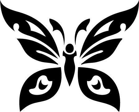Butterfly Custom Vinyl Sticker Decal 002, Car Decal, Bumper Sticker, Laptop Decal, Window Sticker
