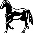 Horse Vinyl Sticker Decal 002, Car Decal, Bumper Sticker, Laptop Decal, Window Sticker