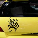 Rose Custom Made Vinyl Sticker Decal, Car Decal, Bumper Sticker, Laptop Decal, Window Sticker