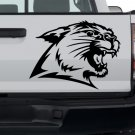 Wild Cat Custom Made Vinyl Sticker Decal, Car Decal, Bumper Sticker, Laptop Decal, Window Sticker