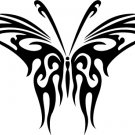 Butterfly Custom Made Vinyl Sticker Decal 003, Car Decal, Bumper Sticker, Window Sticker
