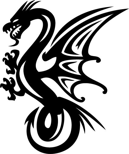 Dragon custom made vinyl sticker decal 0022 car decal bumper sticker laptop decal window sticker
