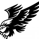 Eagle Custom Made Vinyl Sticker Decal 005, Car Decal, Bumper Sticker, Laptop Decal, Window Sticker