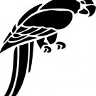 Parrot Custom Vinyl Sticker Decal 001, Car Decal, Bumper Sticker, Laptop Decal, Window Sticker