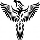Phoenix Custom Vinyl Sticker Decal 002, Car Decal, Bumper Sticker, Laptop Decal, Window Sticker