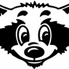 Raccoon Custom Made Vinyl Sticker Decal, Car Decal, Bumper Sticker, Laptop Decal, Window Sticker