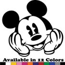 Mickey Mouse Vinyl Sticker Decal - Car Decal, Bumper Sticker,Laptop Decal 667-2