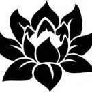 Lotus Sticker Decal - Car Decal,Bumper Sticker,Laptop Decal,Wall Decal 003