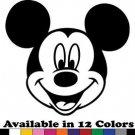 Mickey Mouse Vinyl Sticker Decal - Car Decal, Bumper Sticker,Laptop Decal 567-2