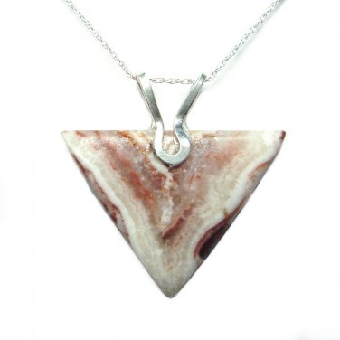Onyx pendant with chain