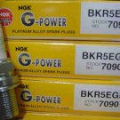 6 NGK (7090) BKR5EGP G-Power Platinum Spark Plug, Pack of 6