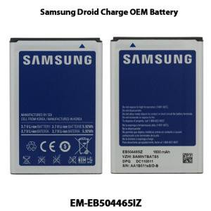 OEM Samsung EB504465IZ 1600mAh Standard Li-Ion Battery for Samsung DROID Charge i510 FREE SHIPPING