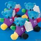 One Rainbow Plush Bear