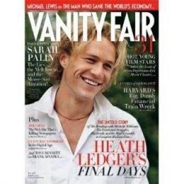 1 yr Vanity Fair Magazine Subscription