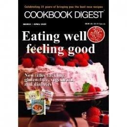 1 yr Cookbook Digest Magazine Subscription