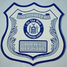 "POLICE REGISTRY ""Decal"" Large 4"" x 4"""