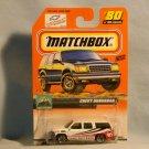 Matchbox Chevy Suburban