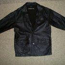 Men's Liz Claiborne Leather Lambskin Jacket - Dark Brown L