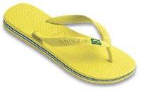 Havaianas Brasil Yellow