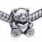 Teddybear Baby w/ Heart Spacer 051