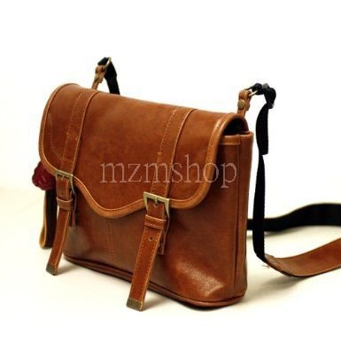 C39 New Brown Leather Camera Bag For Sony A390 A580 NEX-C3 NEX-3 NEX-5 A900 A55
