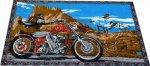 Biker and Horse Rider Desert  Wallhanging