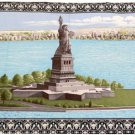 Statue Of Liberty Printed Walhanging