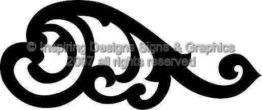 Custom Vector Scroll 09 EPS AI