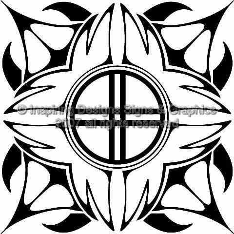 Custom Vector Tribal 08 EPS AI
